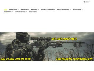 airsoftsniperparts.com screenshot