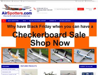 airspotters.com screenshot