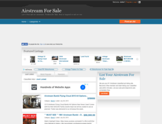 airstreamforsale.org screenshot