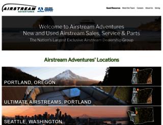 airstreamnw.com screenshot