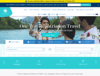 airtahitinui.co.nz screenshot