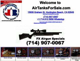 airtanksforsale.com screenshot
