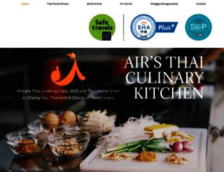 airthaikitchen.com screenshot