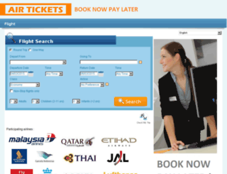 airtickets.net.my screenshot