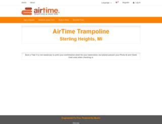 airtimetrampolinesterling.pfestore.com screenshot