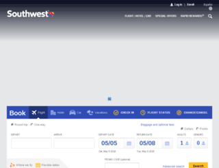 airtran.com screenshot