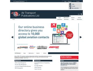airtransportpubs.com screenshot