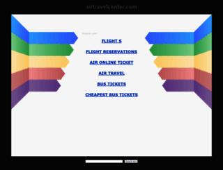 airtravelcenter.com screenshot