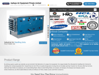 airwashermanufacturer.com screenshot