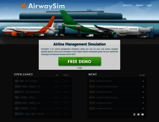 airwaysim.com screenshot