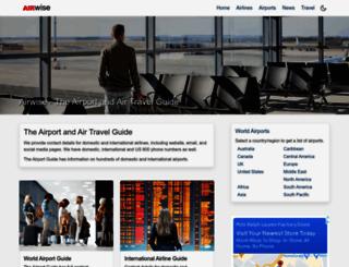 airwise.com screenshot