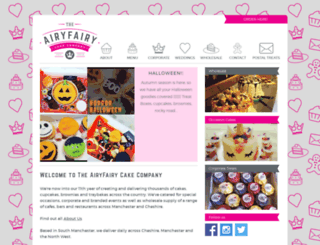 airyfairycupcakes.co.uk screenshot