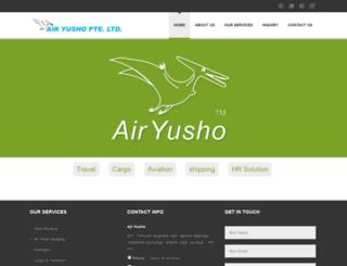 airyusho.in screenshot