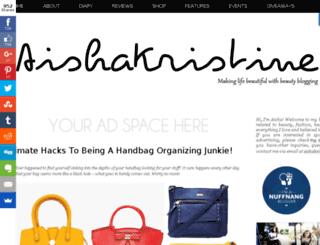 aishakristine.com screenshot