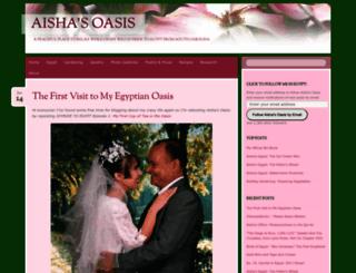 aishasoasis.wordpress.com screenshot