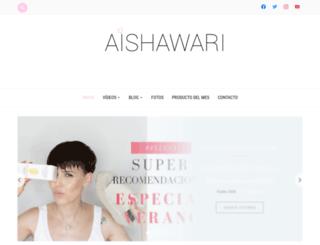 aishawari.com screenshot