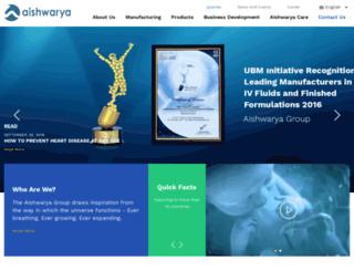 aishwaryalifesciences.com screenshot