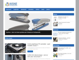aisne-developpement.com screenshot