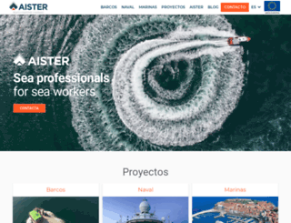 aister.es screenshot