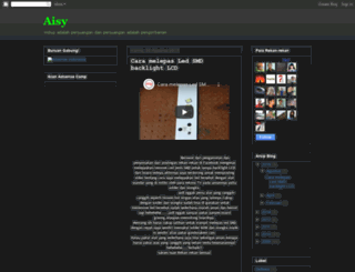 aisy-romadhona.blogspot.com screenshot