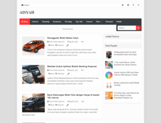aisyahhumaira.com screenshot