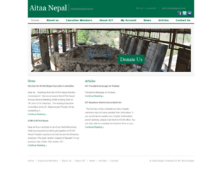 aitaanepal.org.np screenshot