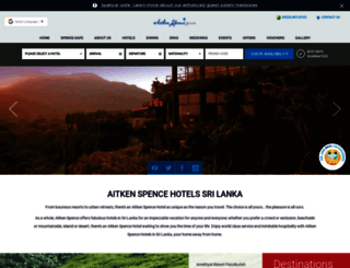 aitkenspencehotels.com screenshot
