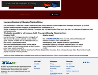aitraining.webce.com screenshot