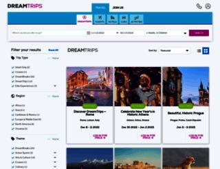 aitravels.dreamtrips.com screenshot