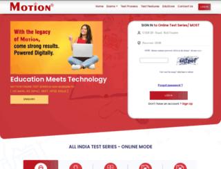 aits.motioniitjee.com screenshot