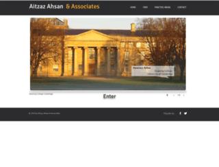 aitzazahsanlaw.com screenshot