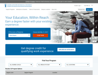 aiu-online.com screenshot