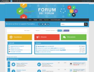 aiuto.forumattivo.com screenshot