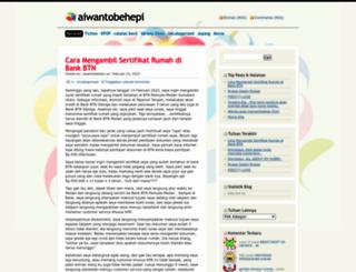 aiwantobehepi.wordpress.com screenshot