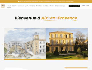 aix-patrimoine.org screenshot