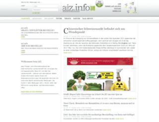 aiz.info screenshot
