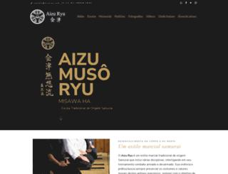 aizuryu.com.br screenshot