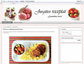 aj-receptai.blogspot.com screenshot
