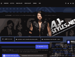 aj-styles.net screenshot