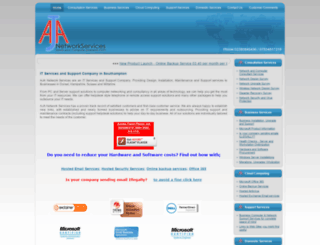 aja-networkservices.co.uk screenshot