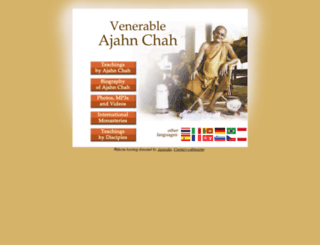 ajahnchah.org screenshot
