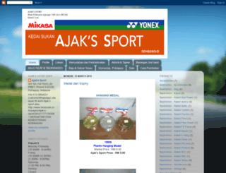 ajaksport.blogspot.com screenshot