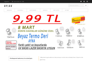 ajandaci.com screenshot
