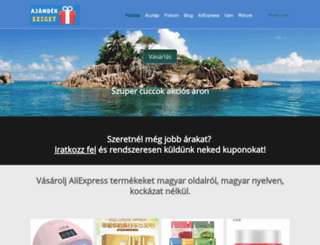 ajandekpoint.hu screenshot