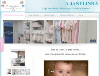 ajanelinha.com screenshot