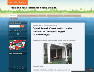 ajangberkarya.wordpress.com screenshot