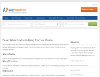 ajangpromosi.com screenshot