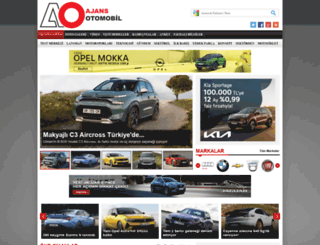 ajansotomobil.com screenshot