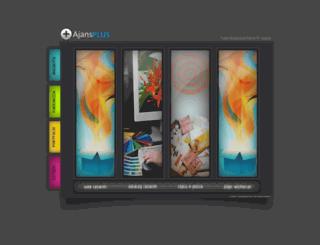 ajansplus.com screenshot