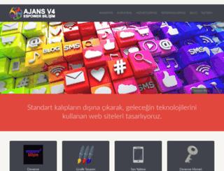 ajansv4.espowerbilisim.com screenshot